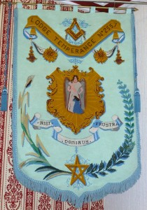 Banner of Lodge Temperance No. 2557