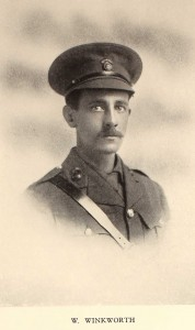 2nd Lieutenant Walter Winkworth. Photo Courtesy of the IET Archives