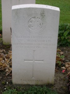 War Grave Walter Winkworth