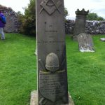 In Memory Of Henry Thomas McDonald Who was first in the 32nd and afterwards Capt. in the 53rd Regt And served long In India Died August 25th 1856 Aged 73 years Also 2 of his sons Died in infancy St Mary's Church Lindisfarne, Holy Island